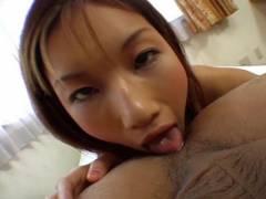 Maria Fujisawa tongues derrier and tongues banana
