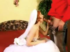 Redhead Wife Performs Blowjob