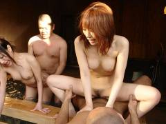 Babes and lads enjoy in hot spring sex group sex